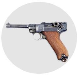 Пистолет Люгер П-08 Парабеллум. Luger P-08