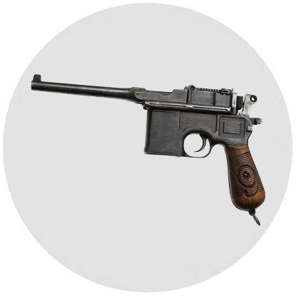 Пистолет Маузер Ц96 (Mauser C96)